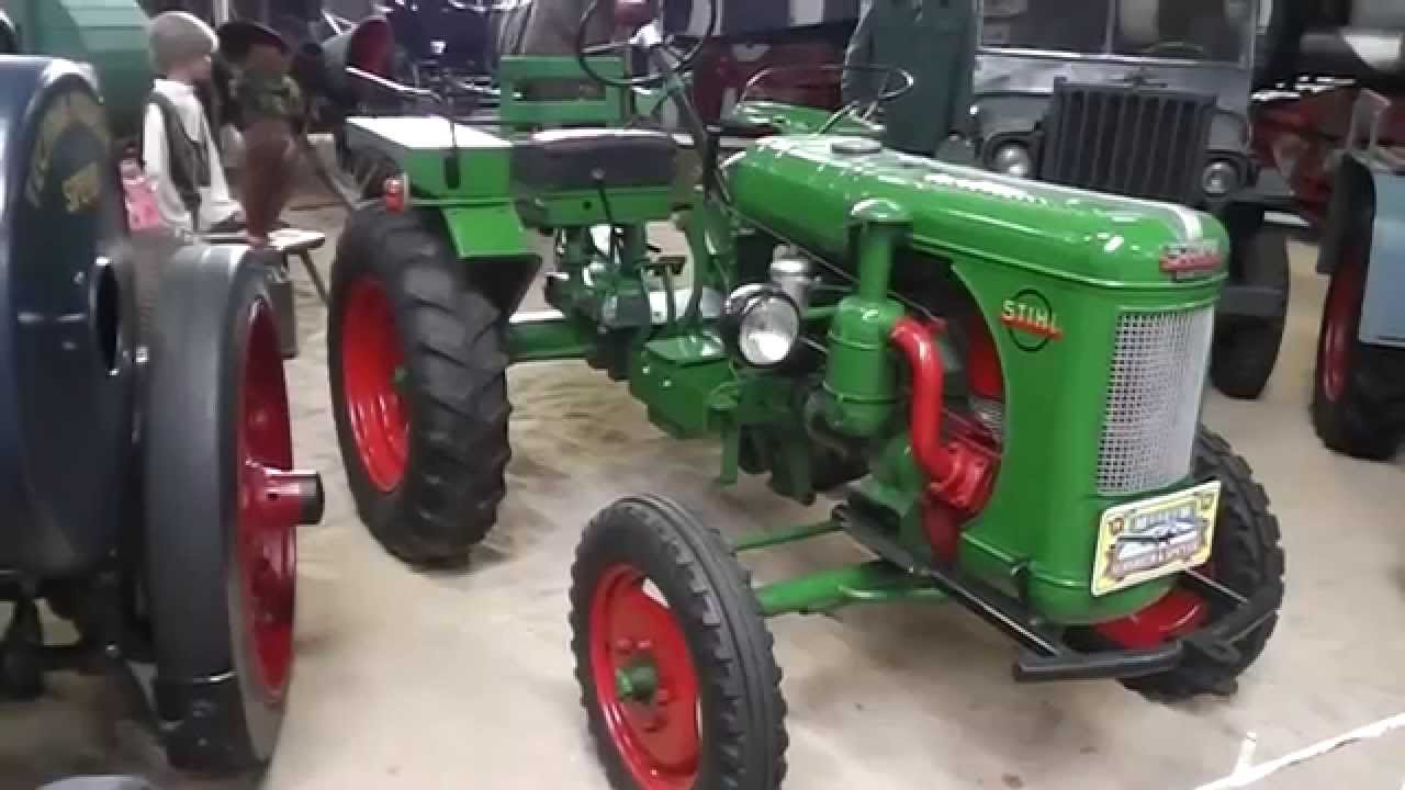 stihl tractor