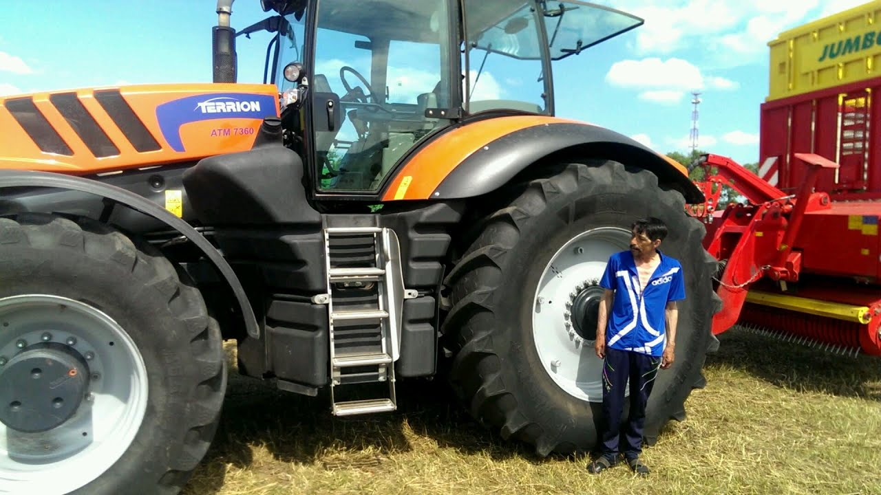 terrion atm tractor