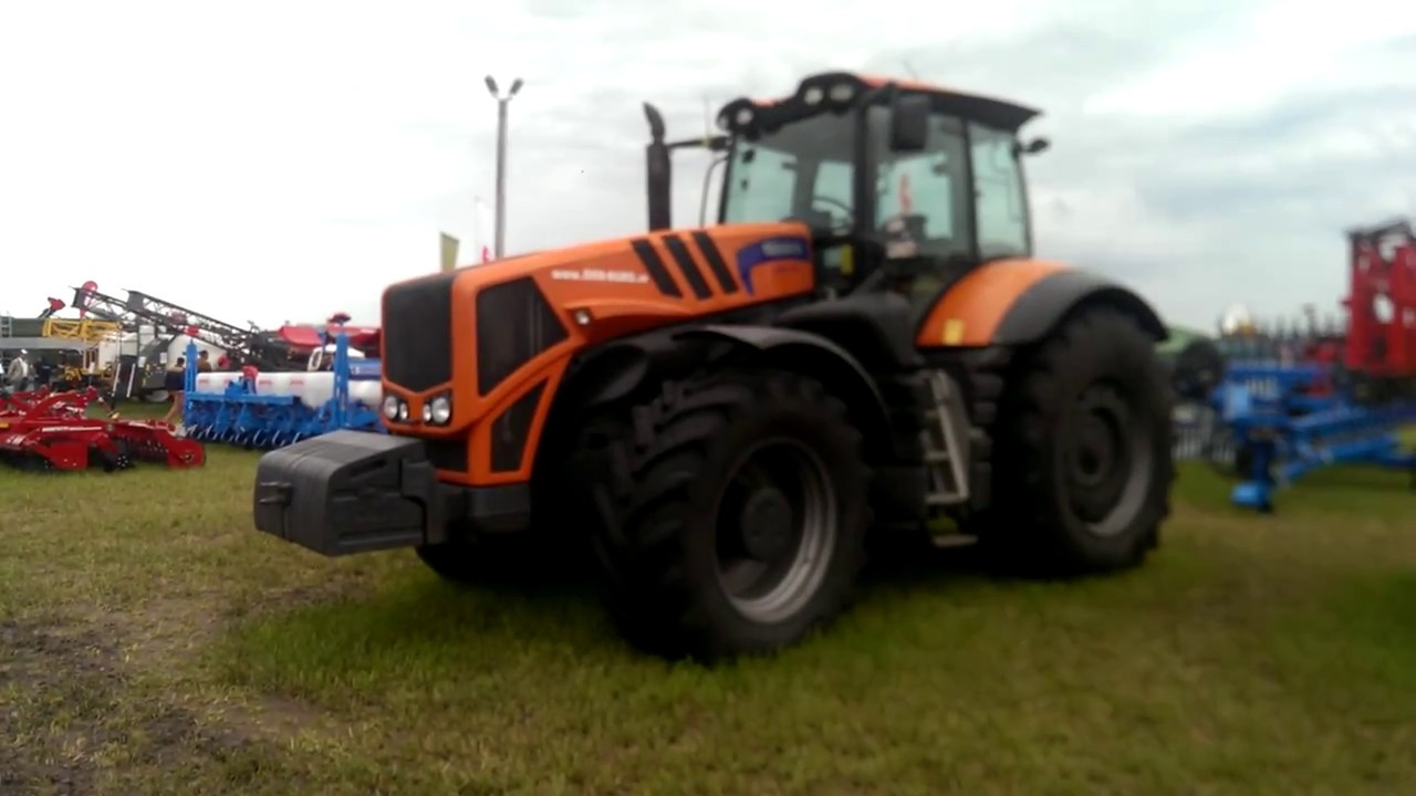TERRION ATM 7360 Powerful tractor - YouTube