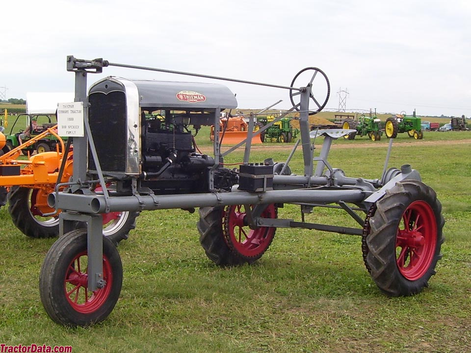 thieman harvester tractor