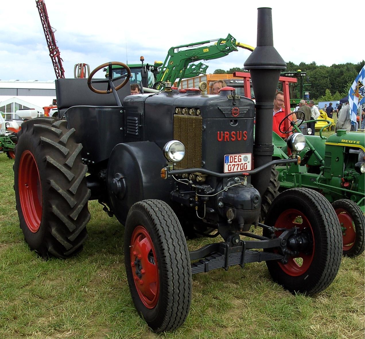 ursus tractor