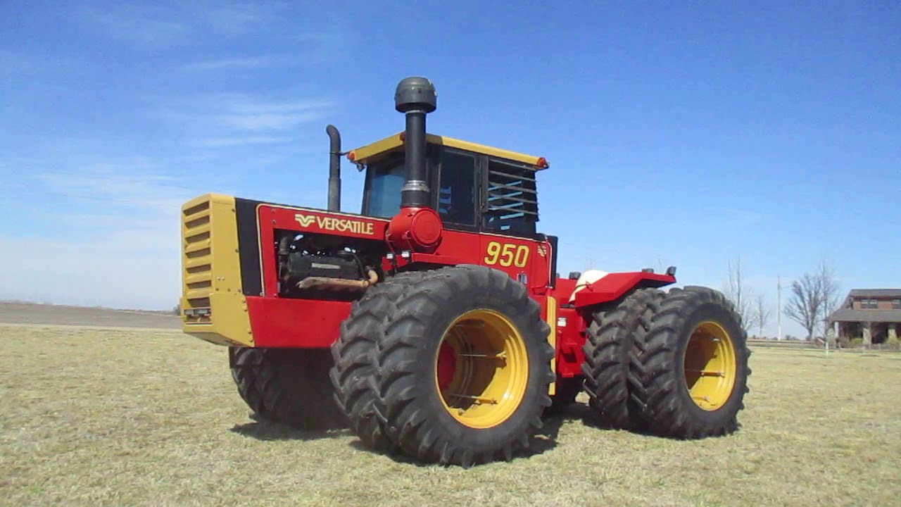 1980 Versatile 950 Series 2 4WD Tractor - YouTube