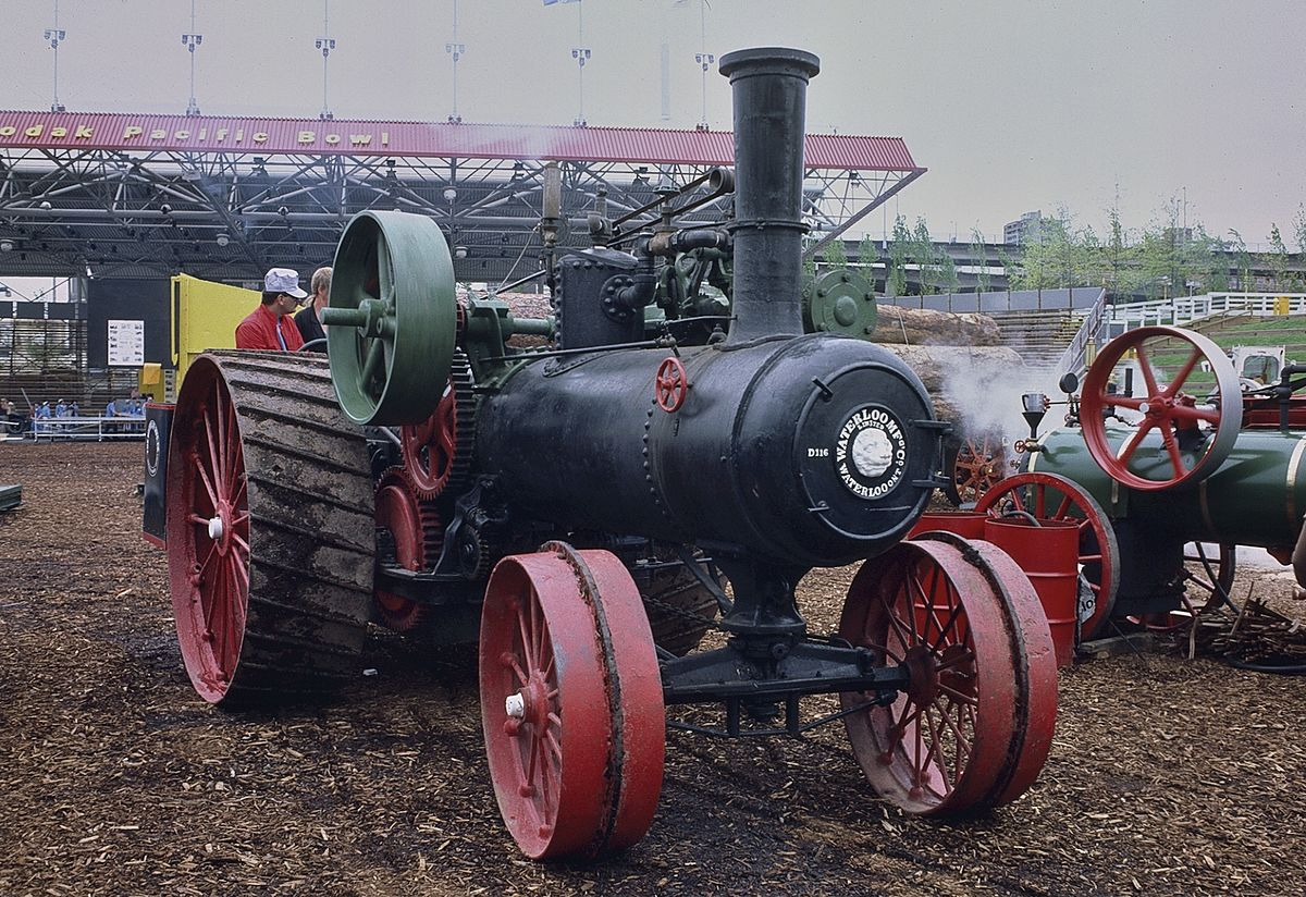 waterloo manufacturing company tractor