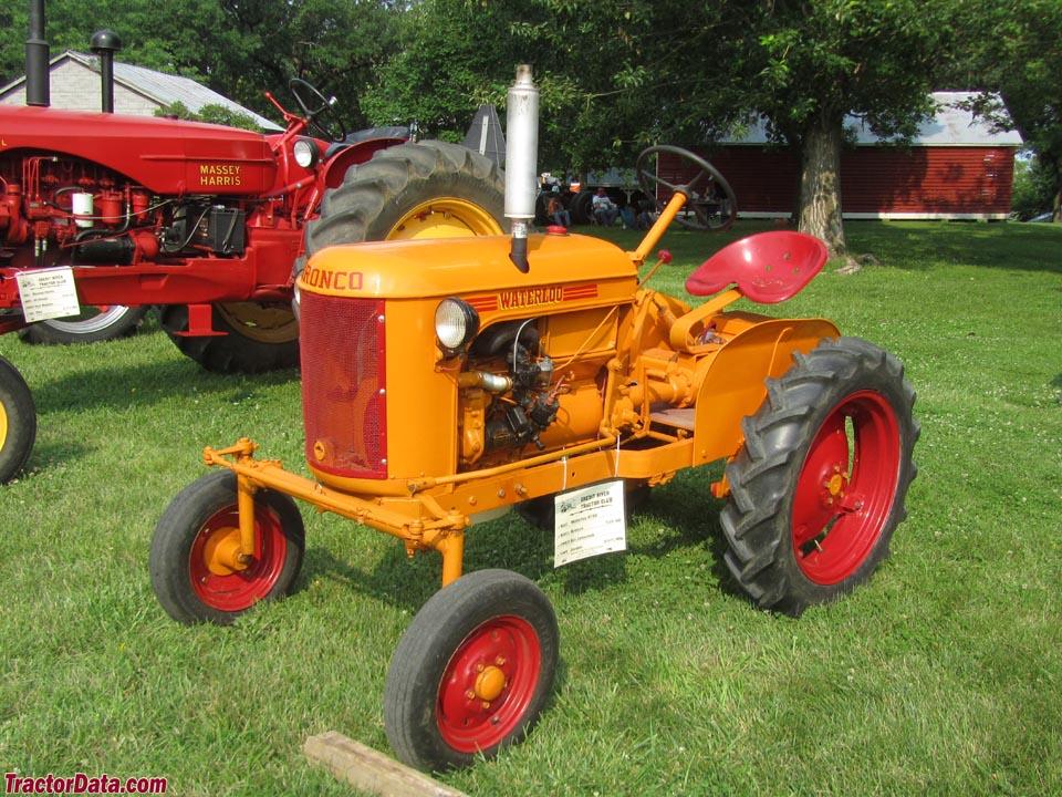 TractorData.com Waterloo Manufacturing Company Bronco ...