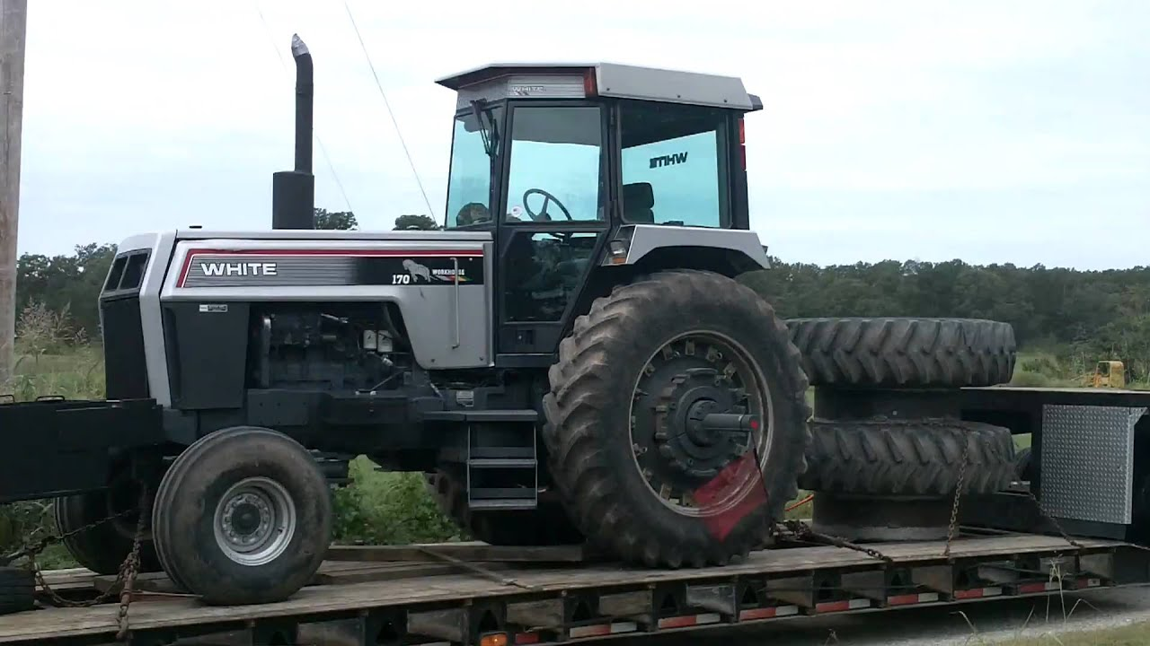White 170 Workhorse Tractor - YouTube