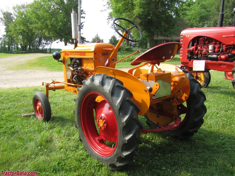 waterloo manufacturing company farm tractors