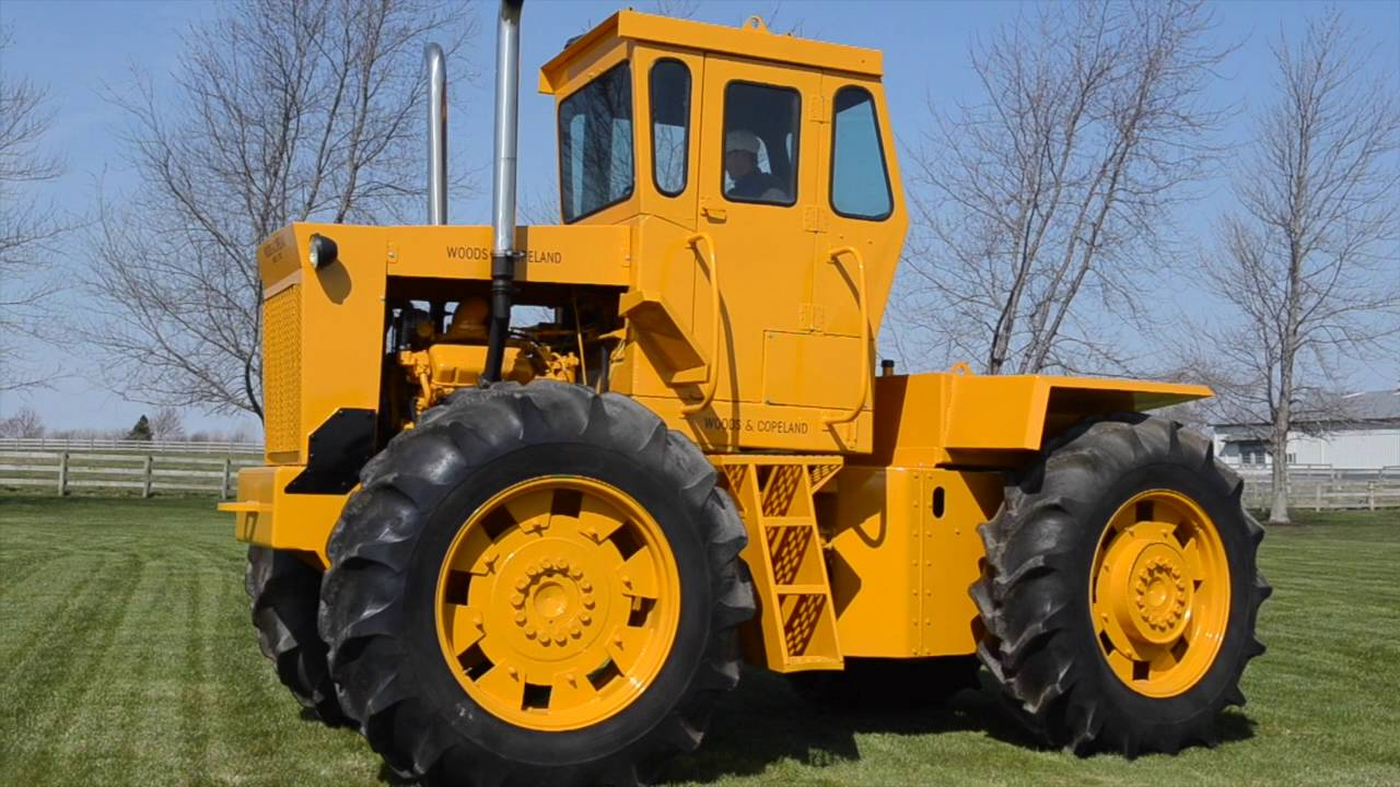 woods & copeland tractor