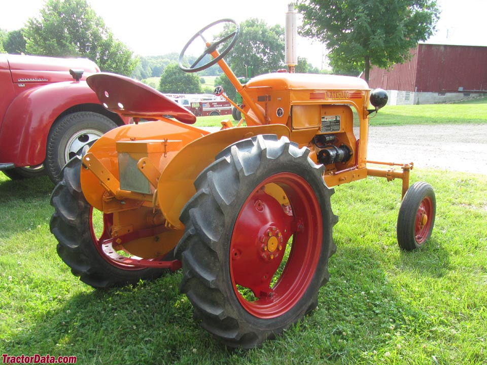 TractorData.com Waterloo Manufacturing Company Bronco tractor photos ...