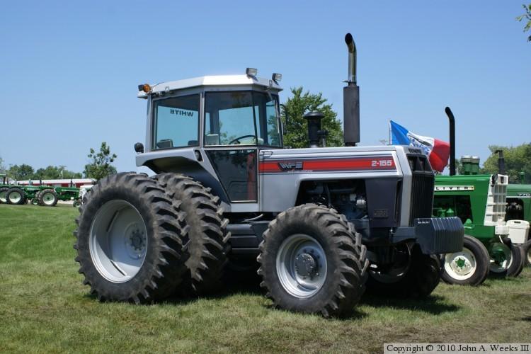 white farm tractors