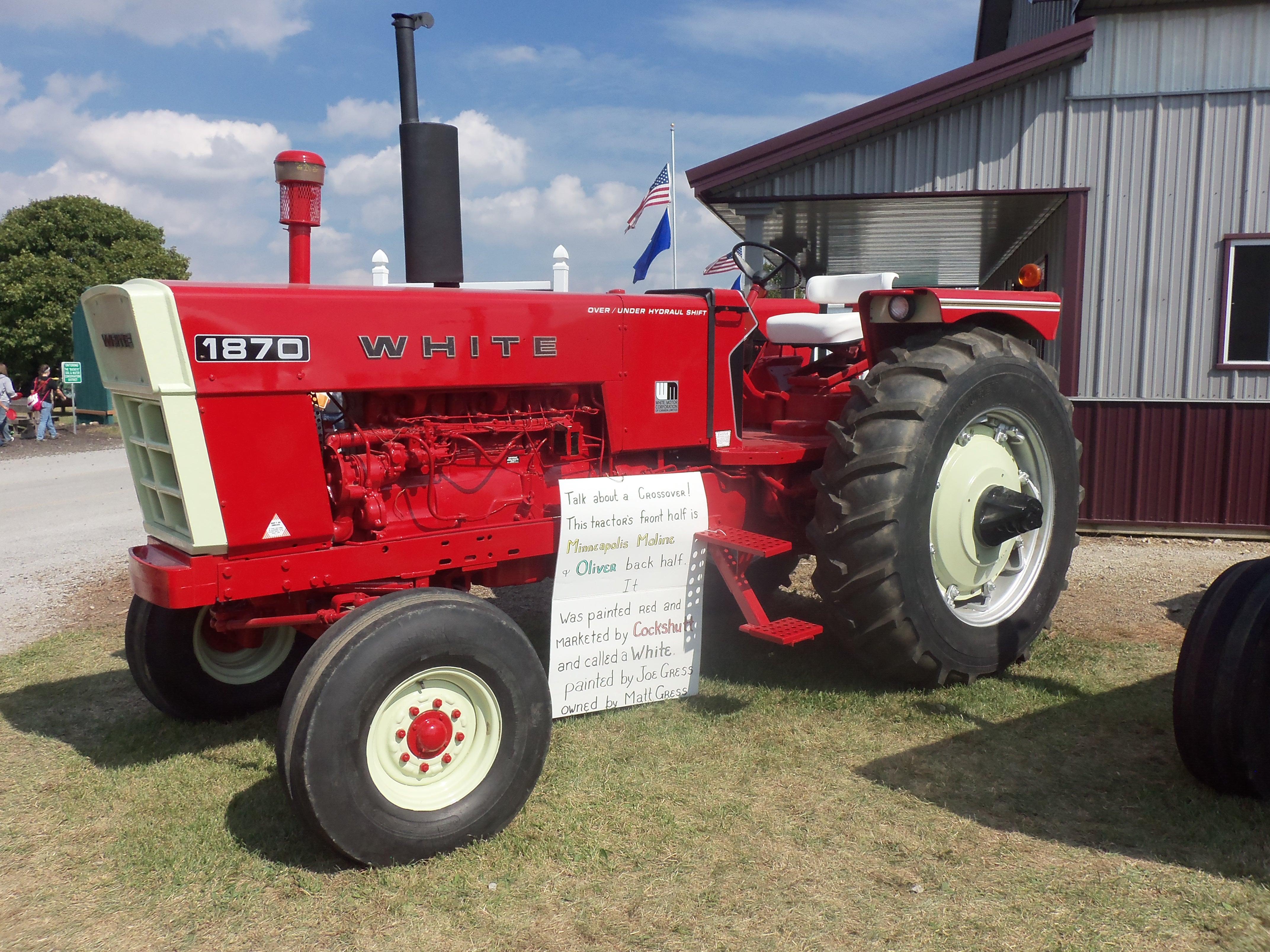 White 1870 tractor | White Farm Equipment | Pinterest