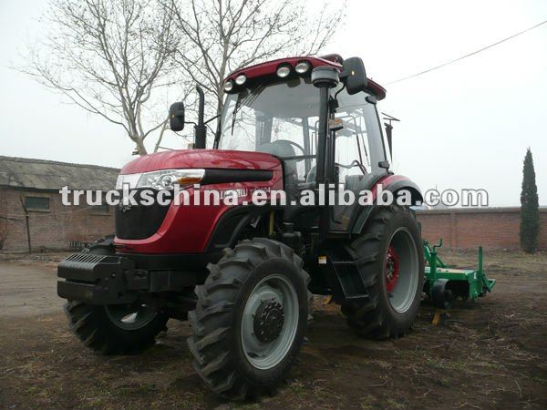 Wuzheng large torque 80hp 4WD farm tractor