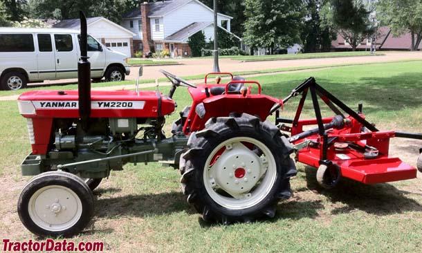 TractorData.com Yanmar YM2200 tractor photos information