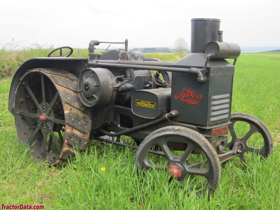 TractorData.com Advance-Rumely OilPull X 25/40 tractor photos ...