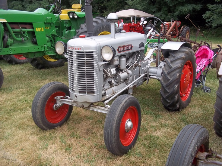 Silver King tractor | Farm Equipment | Pinterest
