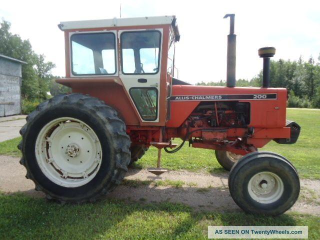 allis chalmers farm tractors