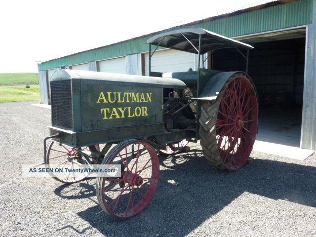 Aultman Taylor 15 - 30 Antique Tractor Rare Antique & Vintage Farm ...