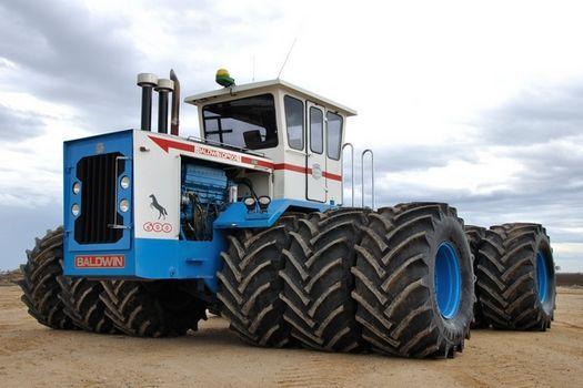 baldwin farm tractors