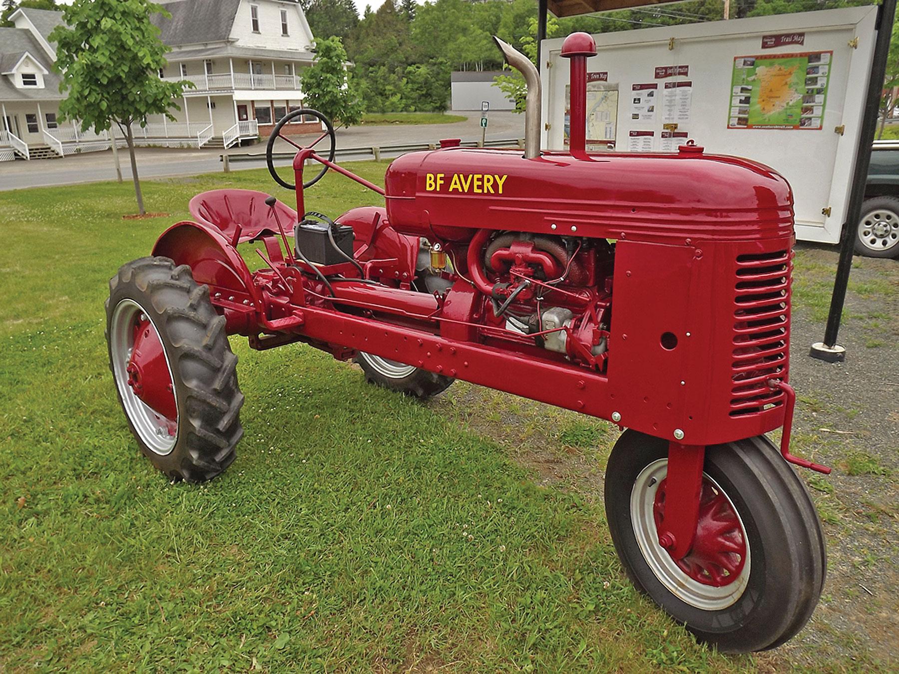 bristol farm tractors