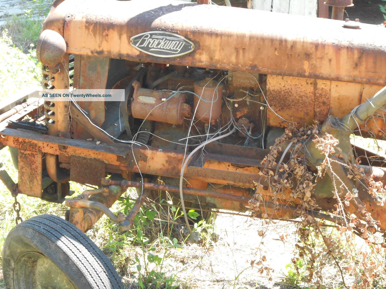 Brockway Old And Rare Farm Tractor Tractors photo