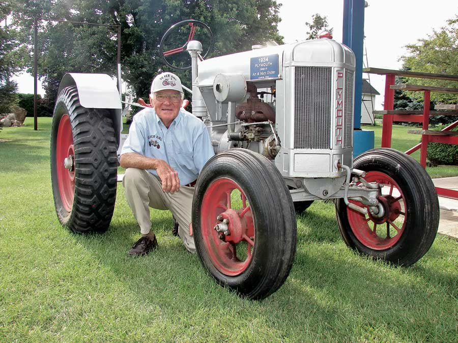 ... Plymouth, long used as a grounds tractor at The Ohio State University