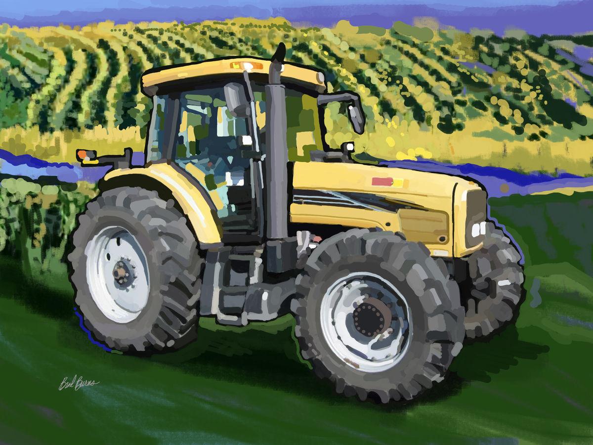challenger farm tractors