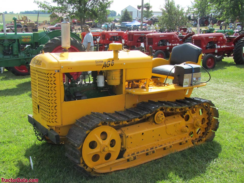 TractorData.com Cletrac AG-6 tractor photos information