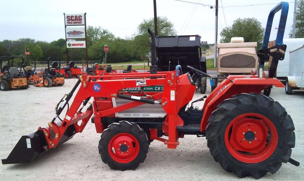 Used Farm Tractors DAEDONG L3502D BIG RED'S EQUIPMENT SALES & RENTALS