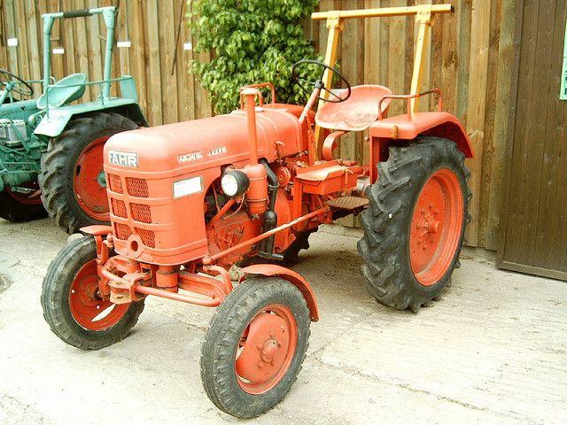 fahr farm tractors