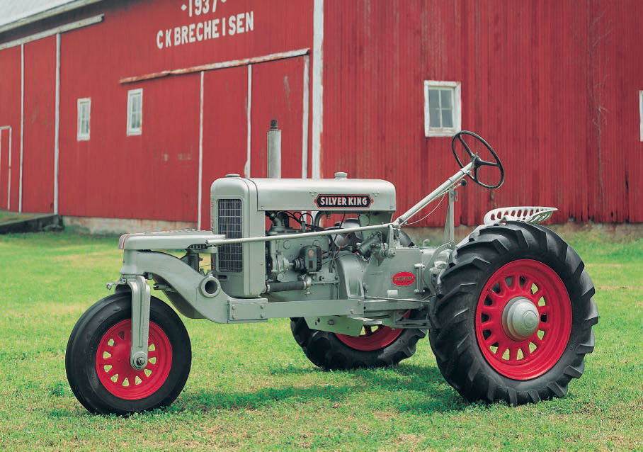 The Fate-Root-Heath Company began building the Plymouth 10-20 tractor ...