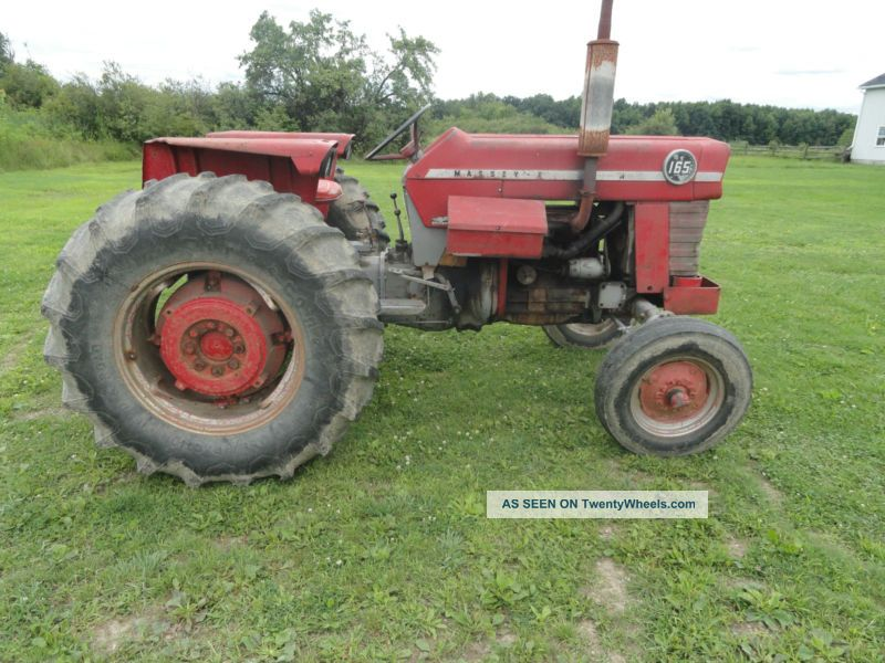 Massey Ferguson 165, Massey, Mf165, Farm Tractor Tractors photo