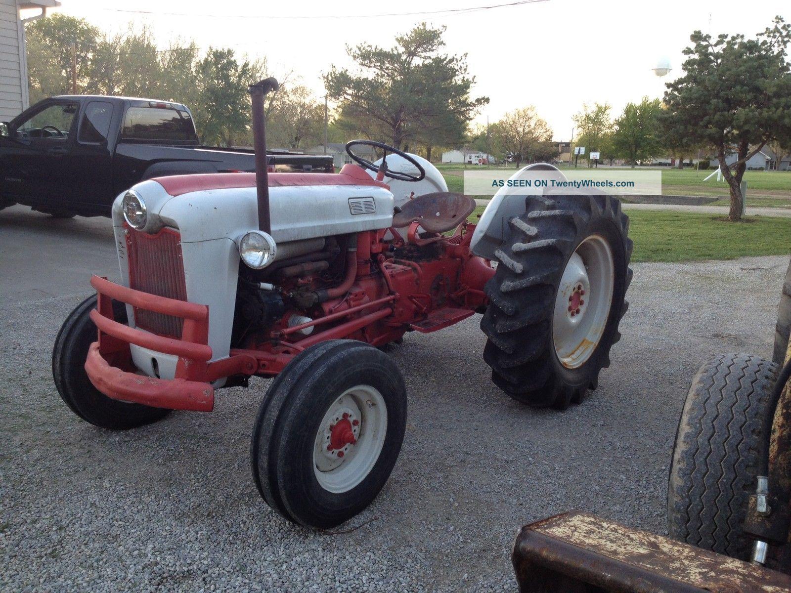 ford farm tractors