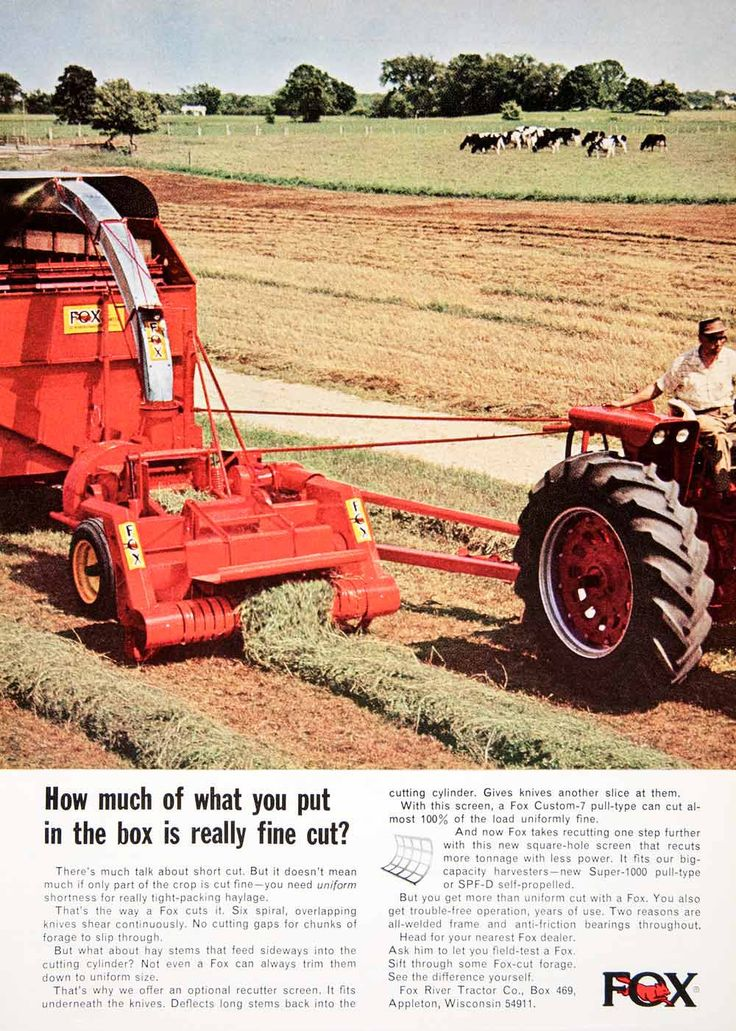 fox river tractor company farm tractors