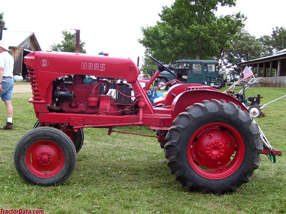 haas farm tractors