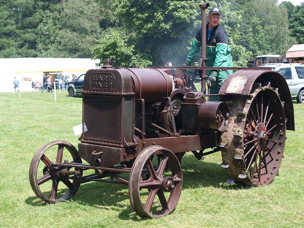 hart parr farm tractors