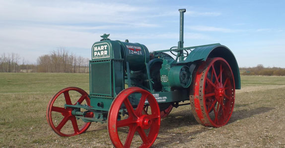 old farm machinery too – like the 1929 Hart Parr 12-24 tractor ...