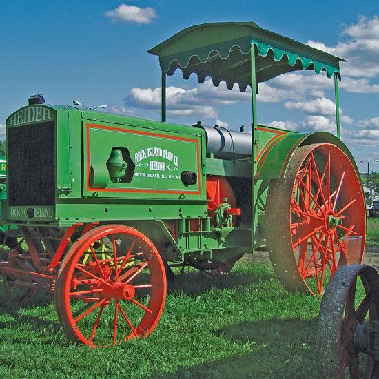 heider farm tractors