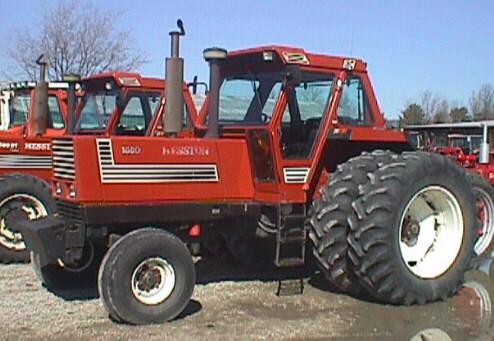 hesston farm tractors