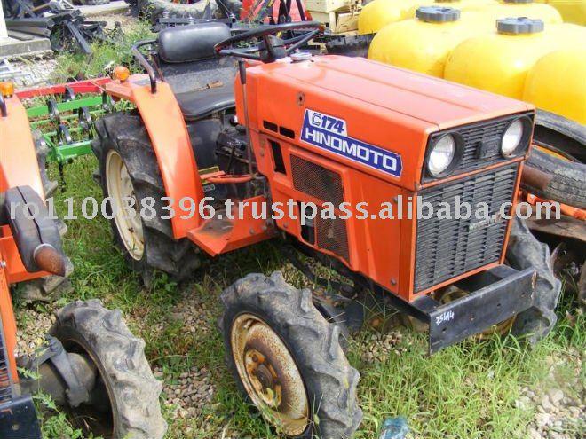 Mini Farm Tractor Hinomoto C174 - Buy Mini Farm Tractor Hinomoto C174 ...