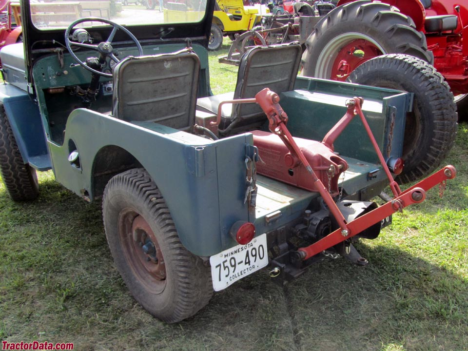 jeep cj farm tractors