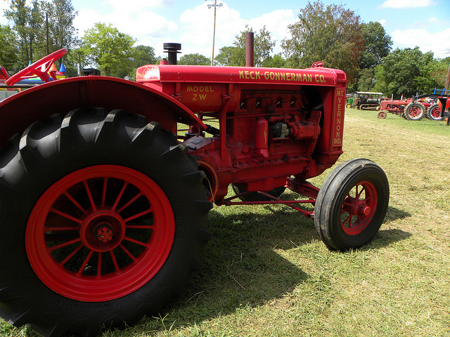 keck gonnerman farm tractors