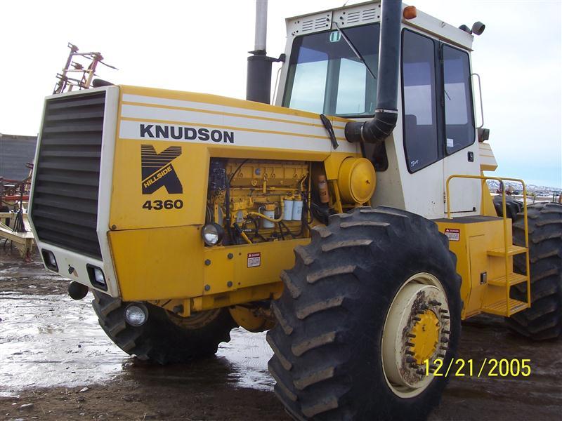 knudson farm tractors