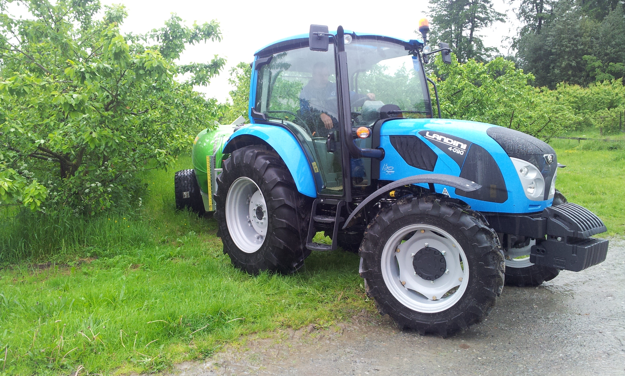 Landini 4 Series tractor is an all-new design primarily for the ...