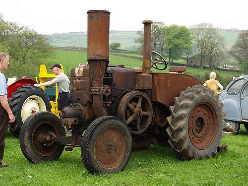 Lanz Bulldog Old Rusty Farm Tractors | Lanz Bulldog Old Rust ...