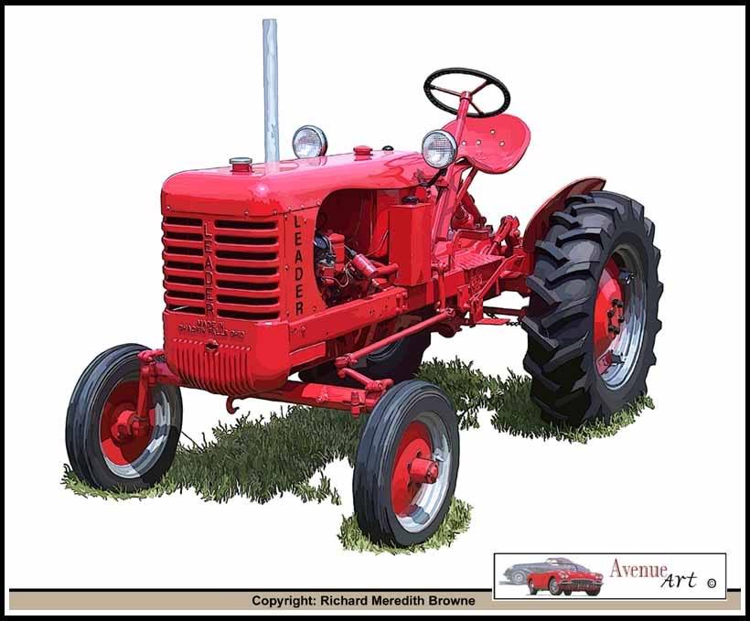 leader farm tractors