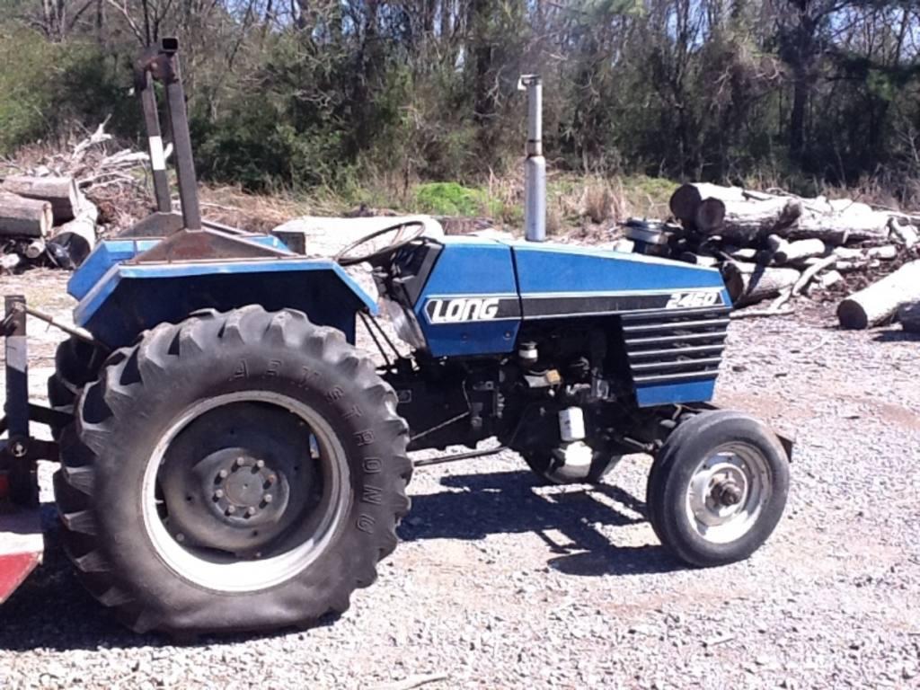 long farm tractors