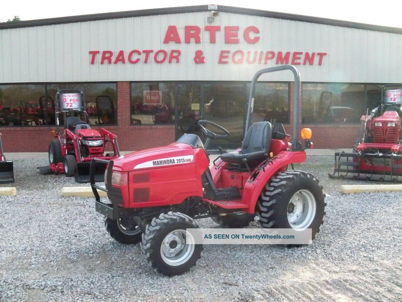 mahindra farm tractors