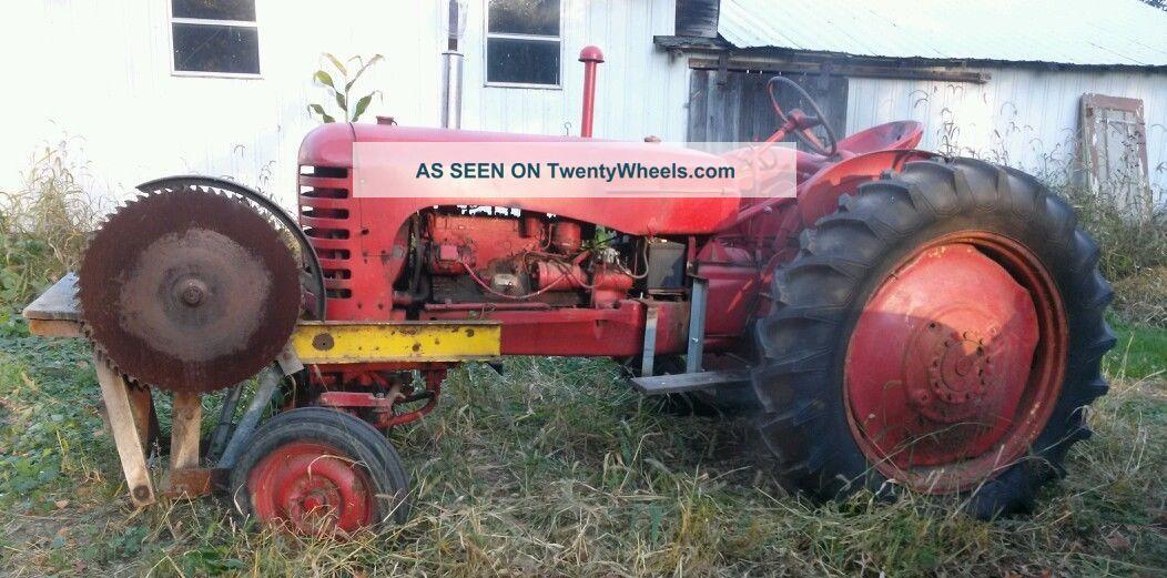Massey Harris Farm Tractor Tractors photo 1