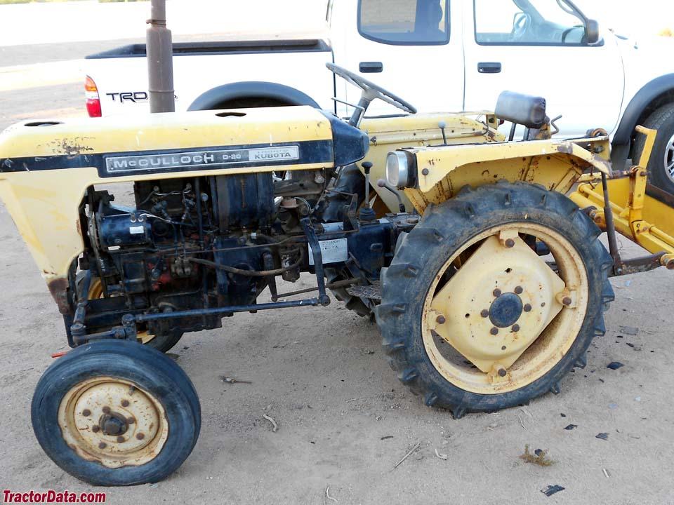 mcculloch farm tractors