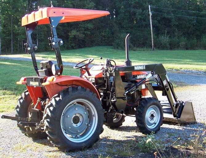 minot farm tractors
