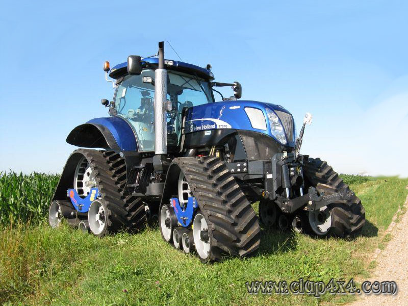 new holland farm tractors